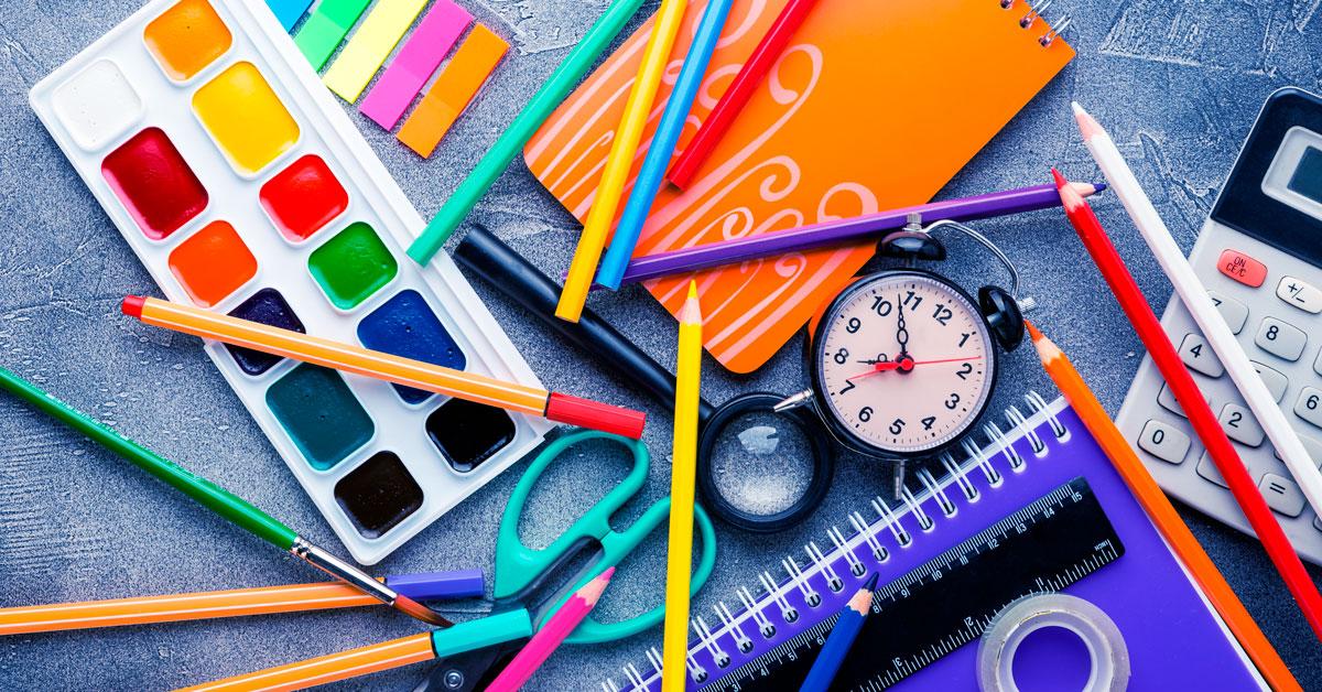 5 dicas para as compras de materiais escolares em 2021